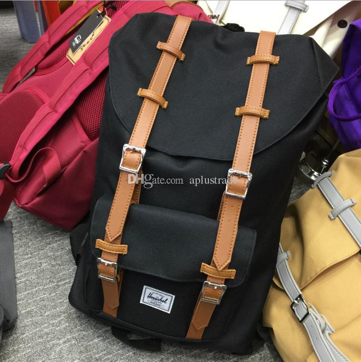 Rifornimento della fabbrica Canada Outdoor Backpack Fashion H Marca zaino 18 colori Hight Quality School Bag 14.5L / 25L spedizione gratuita