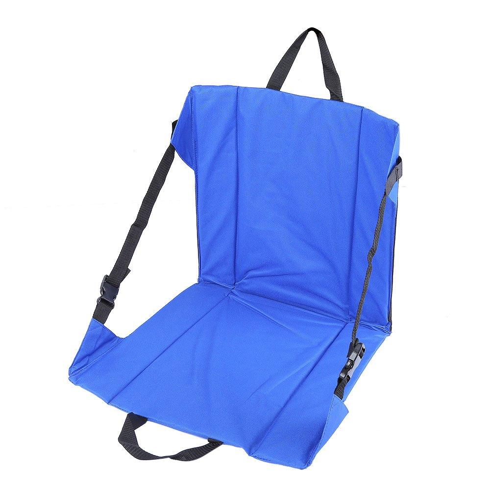 Wholesale- Fishing Camping Chair Lightweight Hiking Stool Seat Cushion Mat with Magic Tape For Fishing Picnic BBQ Outdoor Party
