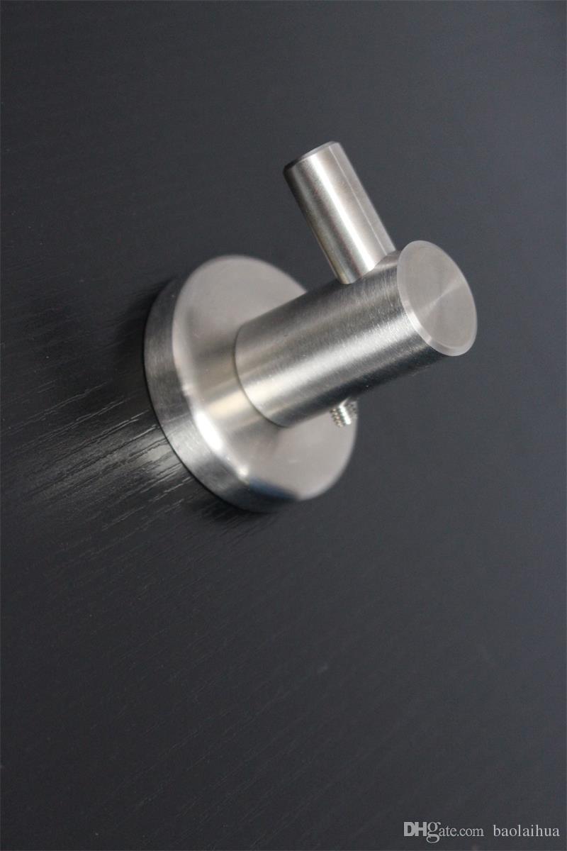 Wunderbar ... 830 3 Badezimmer Zubehör 3 Stück 304 Edelstahl Gebürstetem Nickel Wand  Haken Metall Kleiderhaken Handtuchhalter ...
