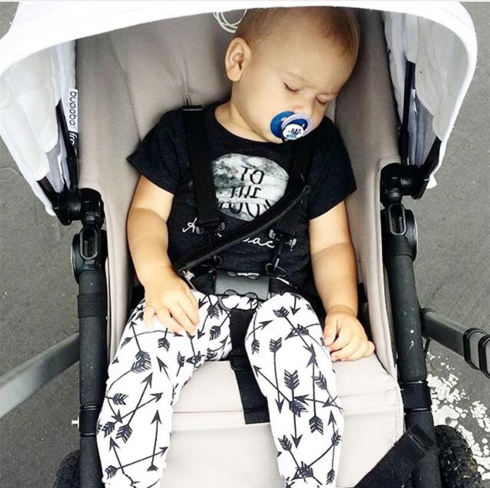2017 neue sommer baby kleidung baumwolle kurzarm mode t shirt + pants 2 stücke säuglingskleidung neugeborenes baby kleidung set