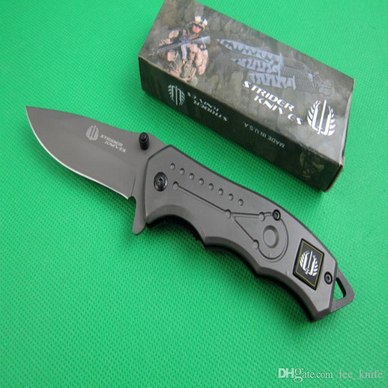 Strider титана таллий (FA01) складной нож кемпинг охотничий нож складной нож 8 шт. бесплатная доставка