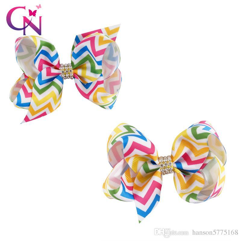 Mini Colourful Hair Bows