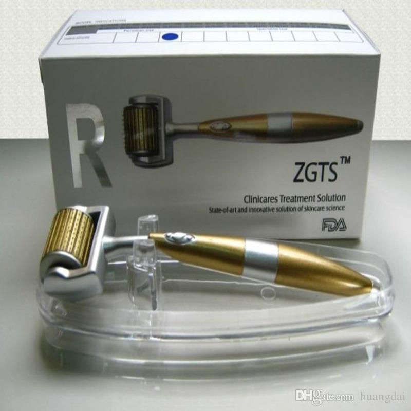 50pcs / lot Nuovo stile ZGTS rullo di derma rullo di titanio derma, 192 rullo di derma ago in lega di titanio