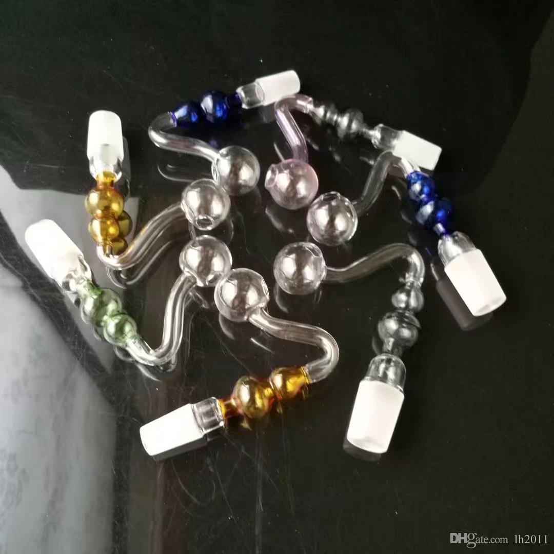 S горшок тыквы, Оптовая продажа стеклянных бонгов Нефтяная горелка Стеклянные трубки Водопроводные трубы Стеклянная трубка Нефтяные вышки Курение Бесплатный шопинг