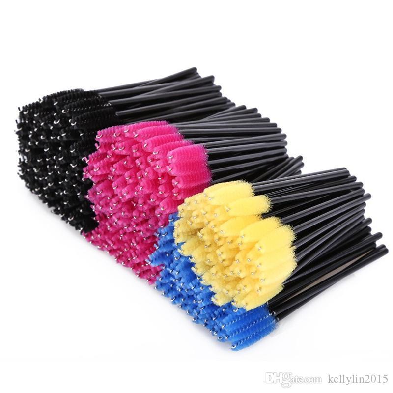50pcs Disposable Eyelash Brush Best Makeup brushes Mascara Applicator Wand One-off Eyebrow Make Up Brush Cosmetic Tools