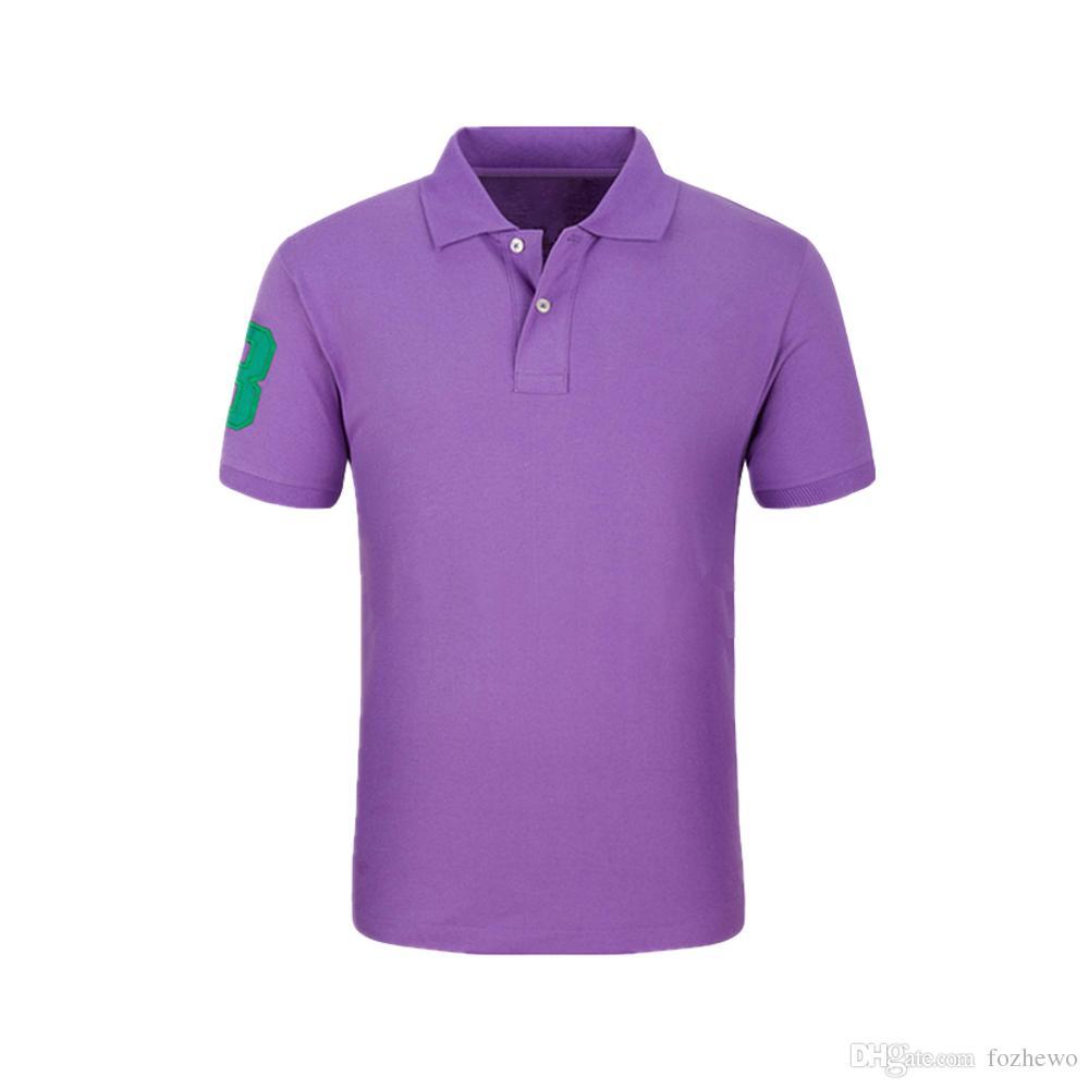 Markenkleidung Stickerei 3 Polo Männer Klassische Massive Patchwork Atmungsaktive Baumwolle Poloshirt Männer Mode Camisa Masculina