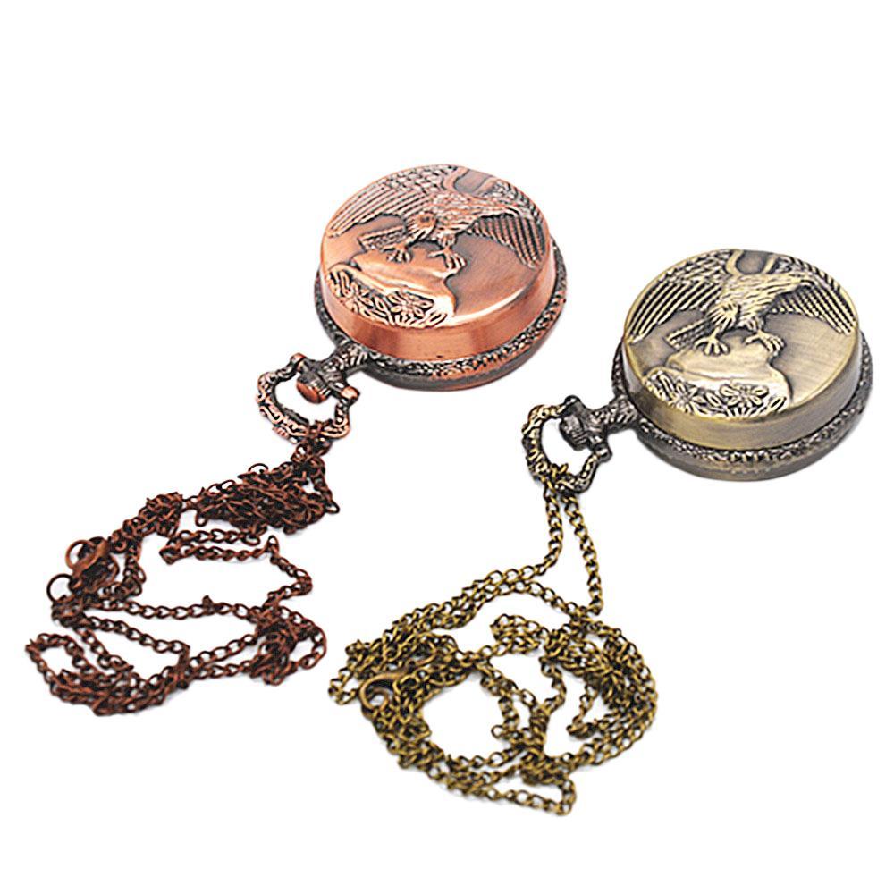 Nouveau élégant Desigh Grinder Herb Crusher magnétique Grinder Métal La montre de poche de type 3 couche Spice Tobacco Gadget