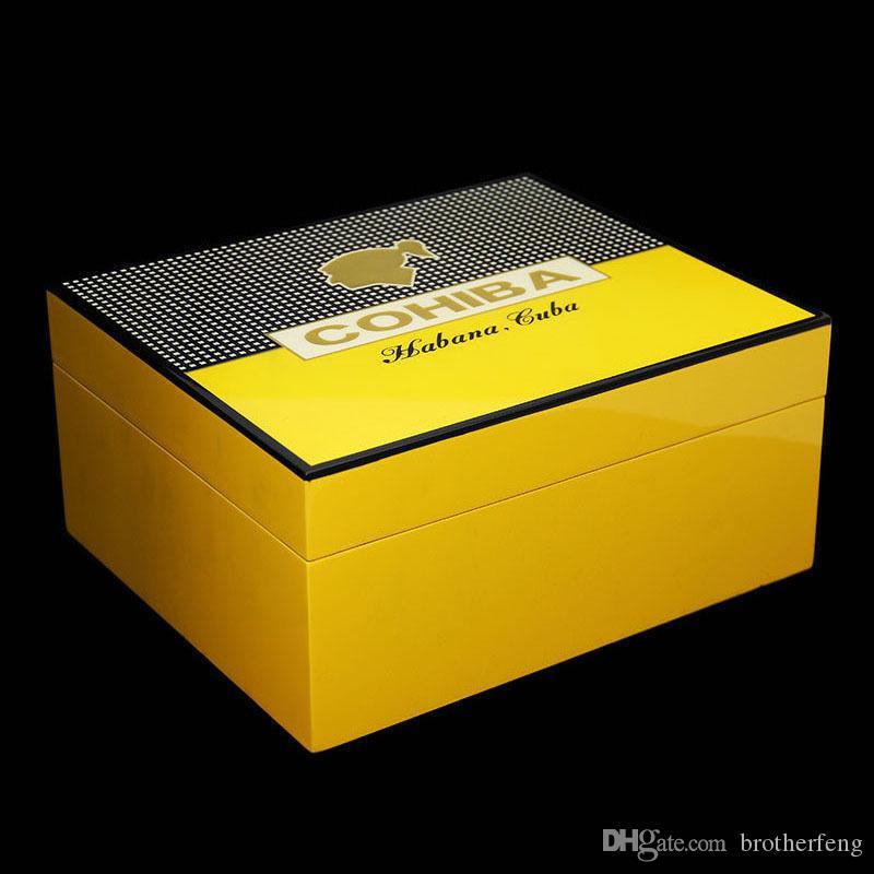 최신 버전! 송료 무료 COHIBA Cedar Cedar Led Cigar 담배 홀더