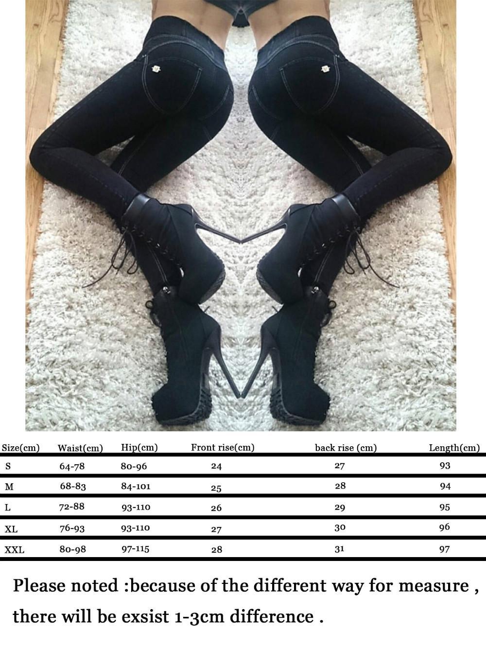 Weg sparen neueste Kollektion bekannte Marke Großhandel Freddy Hosen Hohe Taille Leggings Plus Size Push Up Jeans  Leggings Hüfte Elastik Für Jeans Capris Elastische Hosen Bodybuilding  Frauen Von ...