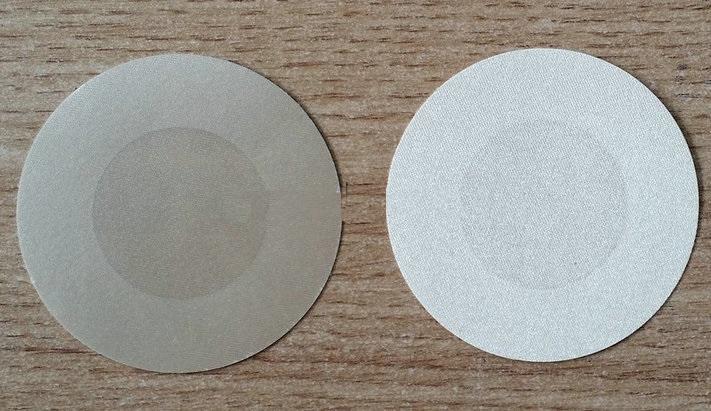 сексуальная атласная регулярные круглые конструкции 8 цветов одноразовые ниппель обложки безопасности охраны окружающей среды синица лента ниппель стикер пирожки pad