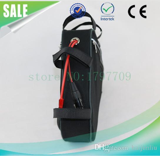 Eu no tax Super Power Ebike Triangle Battery Pack Batería de litio 48V 15Ah Electric Bike Battery con BMS y cargador
