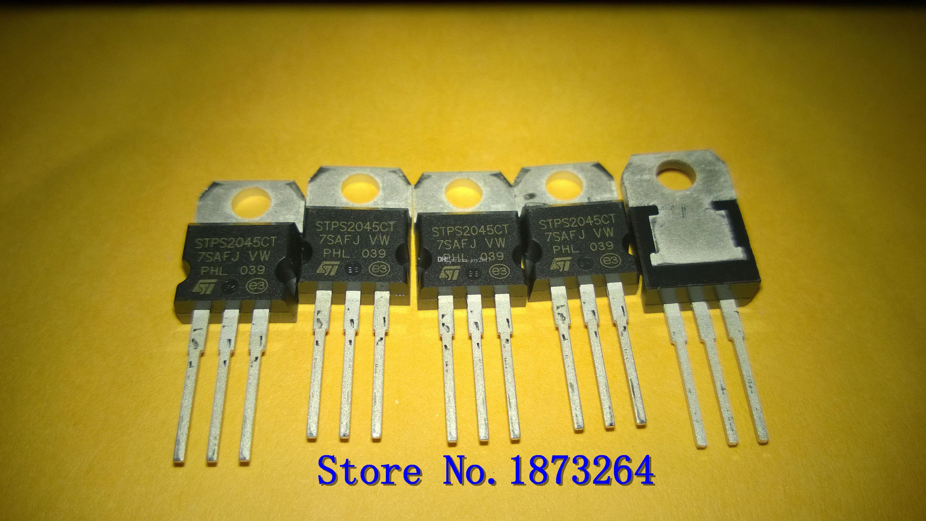 Бесплатная доставка STPS2045CT STPS2045 STPS2045C ТО220 новые и оригинальные 10шт/много