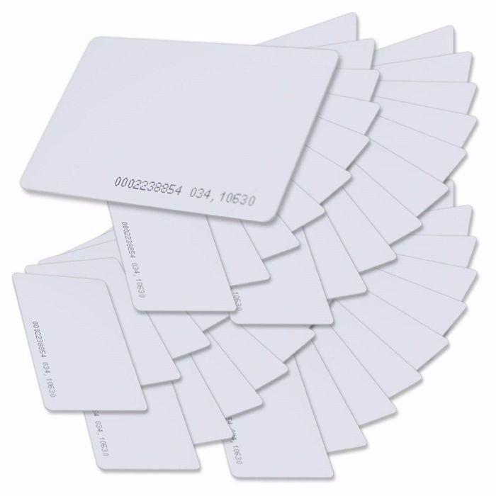 T5577 بطاقة RFID 125 كيلو هرتز EM4100 بطاقات الهوية الناسخ التحكم في الوصول الباب الدخول بطاقة EM مثالية للاستخدام في ID والتحكم في الوصول 10PC