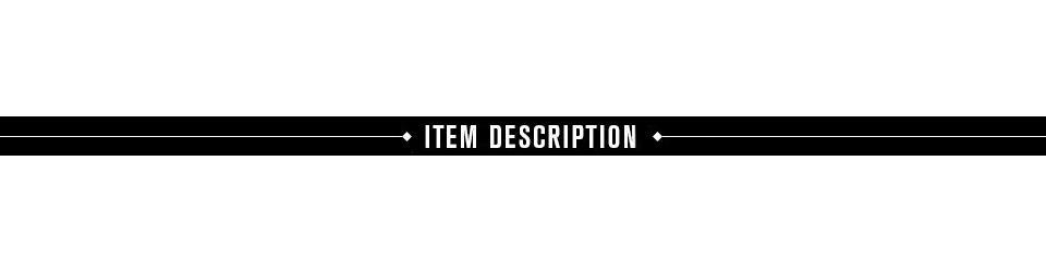 item description