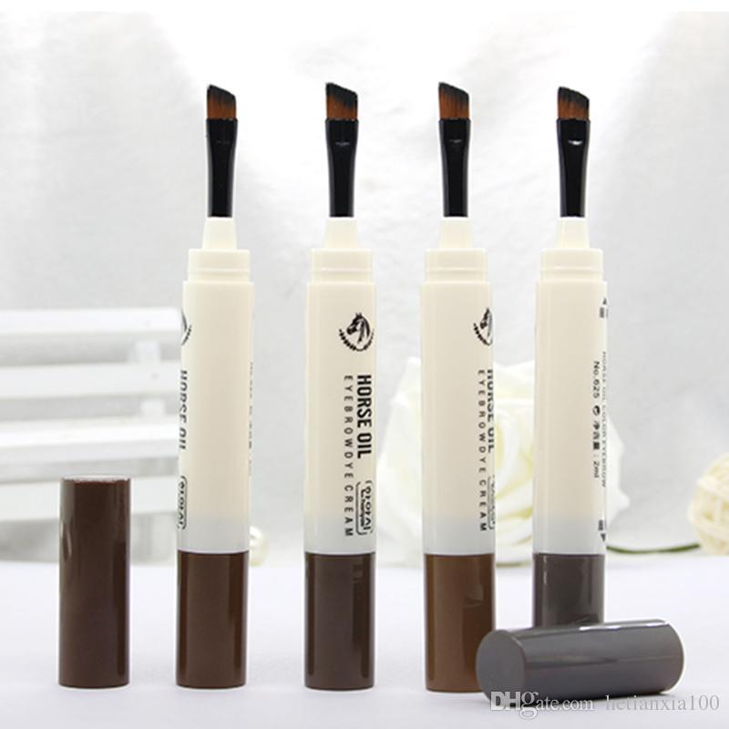 Trucco occhi Brow Pencil Indennità della penna Enhancer impermeabile Brow Trucco cosmetico sopracciglio naturale della durata di gel perfetto