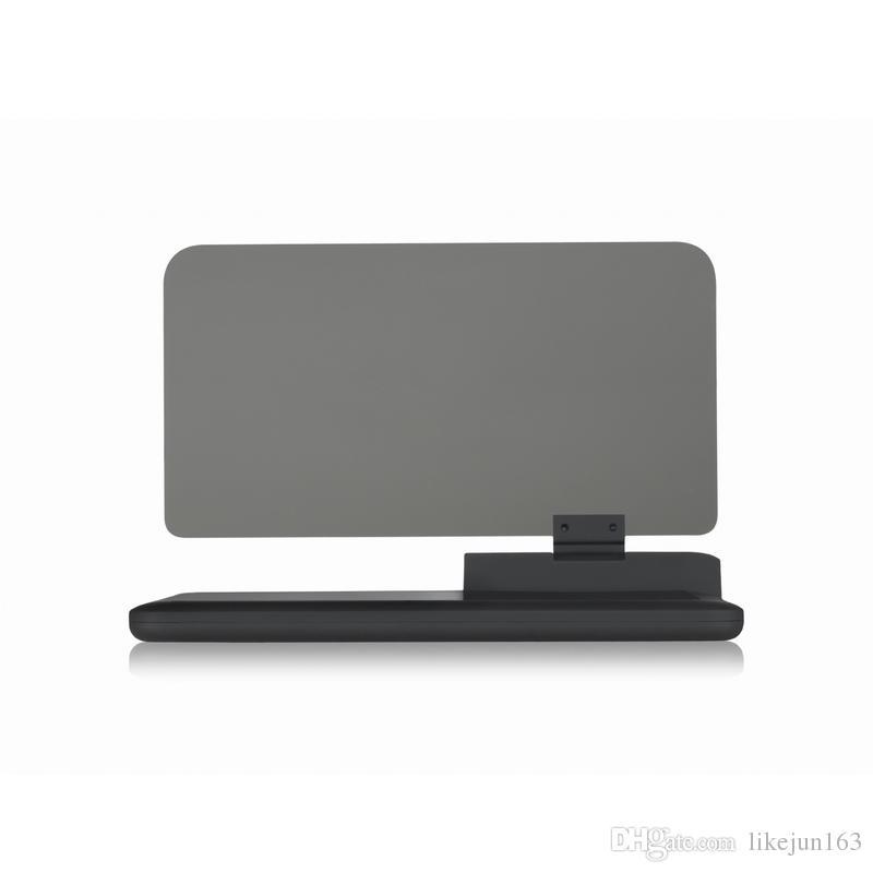 Smartphone Için 6 inç Evrensel Hud Head Up Ekran Tutucu Araba HUD Cam Projektör Sürüş Güvenlik Sistemi