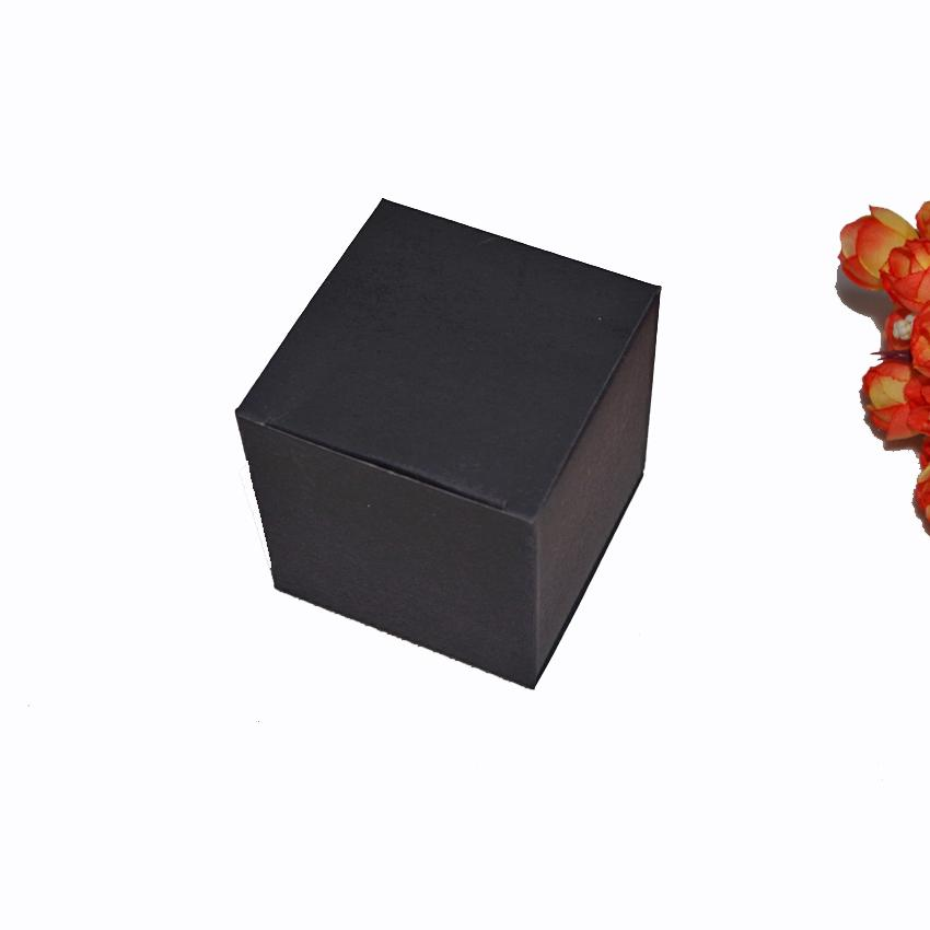 Cinta Aislante 50pcs / lot 8x8x6cm ~ 8/10 / 12cm Mini formato Kraft Scatola di carta Fai da te Rossetto Bottiglia di olio essenziale di profumo Scatole di imballaggio Pacchetto del mestiere
