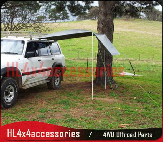 4x4 car Awning c&ing tent car side tent awning picnic outdoor hiking fishing trailer 4WD truck & 4x4 car Awning camping tent car side tent awning picnic outdoor ...