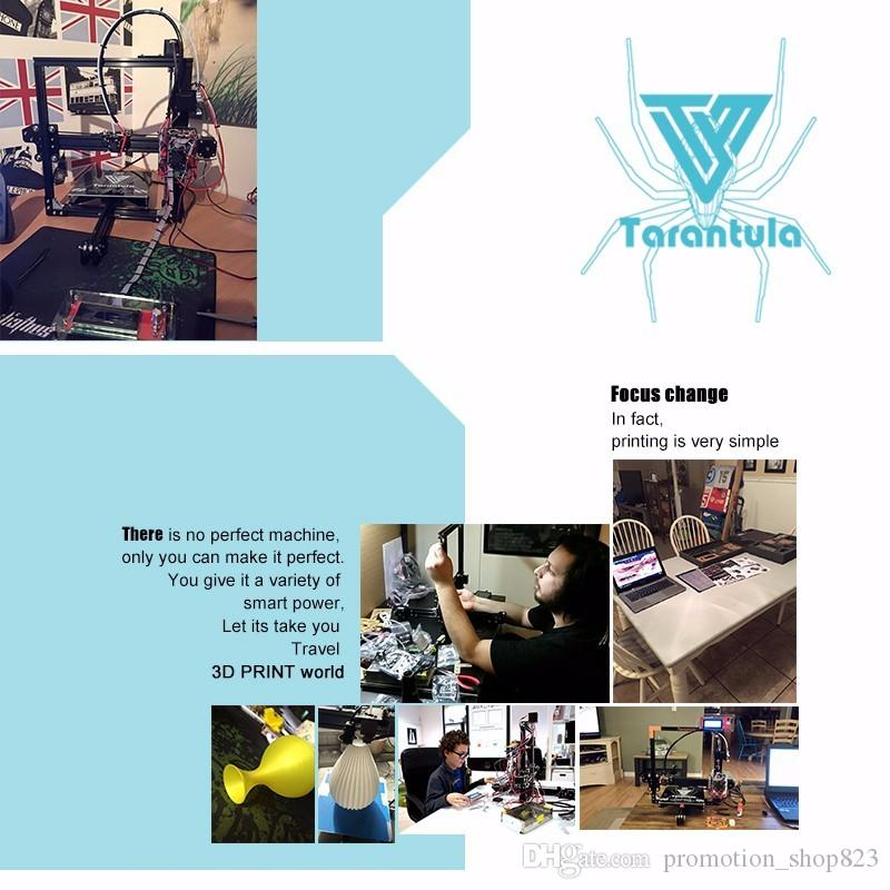 Imprimante 3D TEVO Tarantula 200*280*200mm Large MK3 Heatbed & Auto  Leveling Aluminium Extrusion 3D Printer Kit 3d Laser Scanners China 3d  Printer