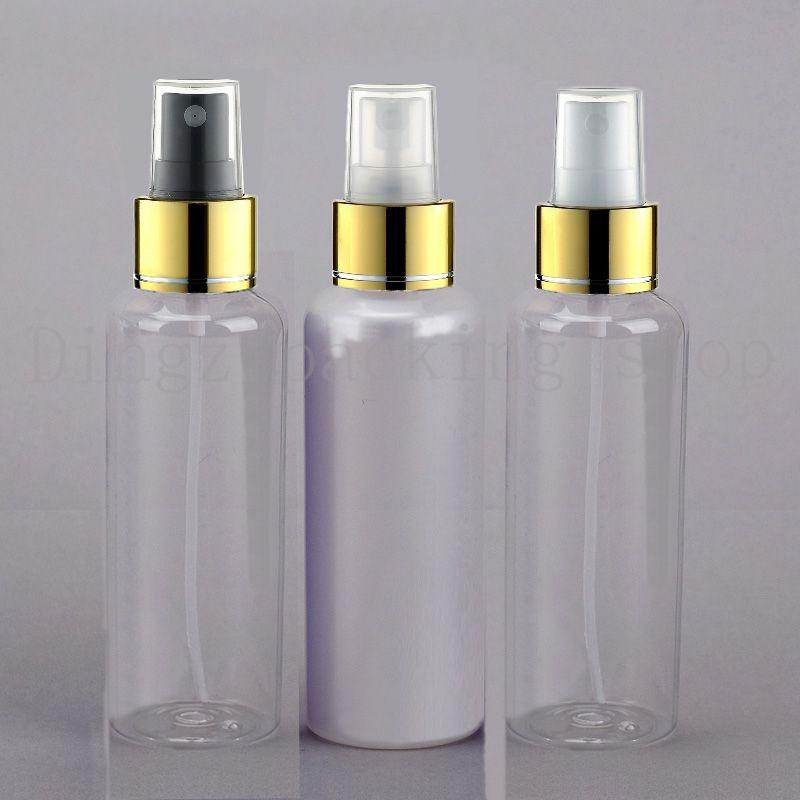 30 stücke 150 ml leere spray kosmetische flasche PET, 150cc leere runde kosmetische verpackung sprayer kunststoff flaschen körperpflege
