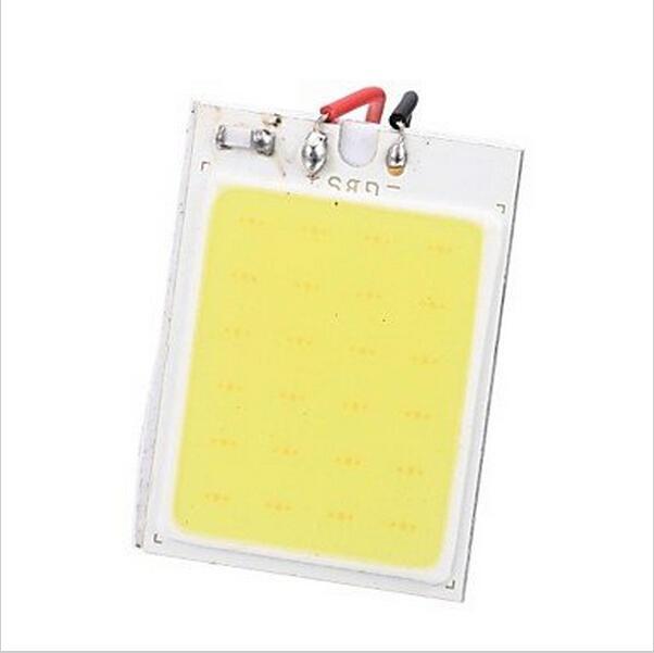 NUOVO LED festone !! 35 millimetri 10PCS / Lot * 25mm 24 SMD COB del circuito integrato del LED Light Car Interior Con T10 + festone adattatori cupola bianca Lampade