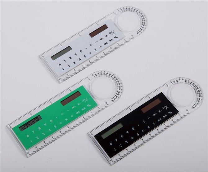 Calculatrice créatrice de règle calculatrice solaire Bureau des étudiants fournit des calculs ainsi que la mesure de la longueur