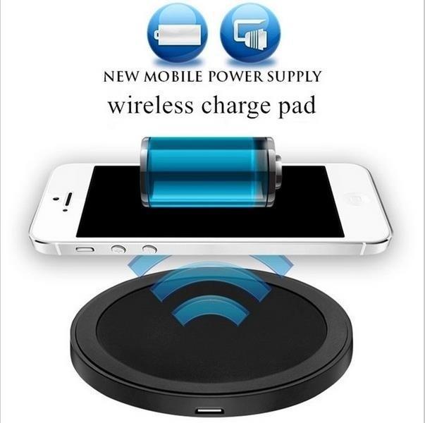 iPhone 용 휴대용 무선 충전기 Qi 무선 전원 충전기 삼성 Galaxy S3 S4 Note2 Nexus 휴대 전화 용 고속 충전