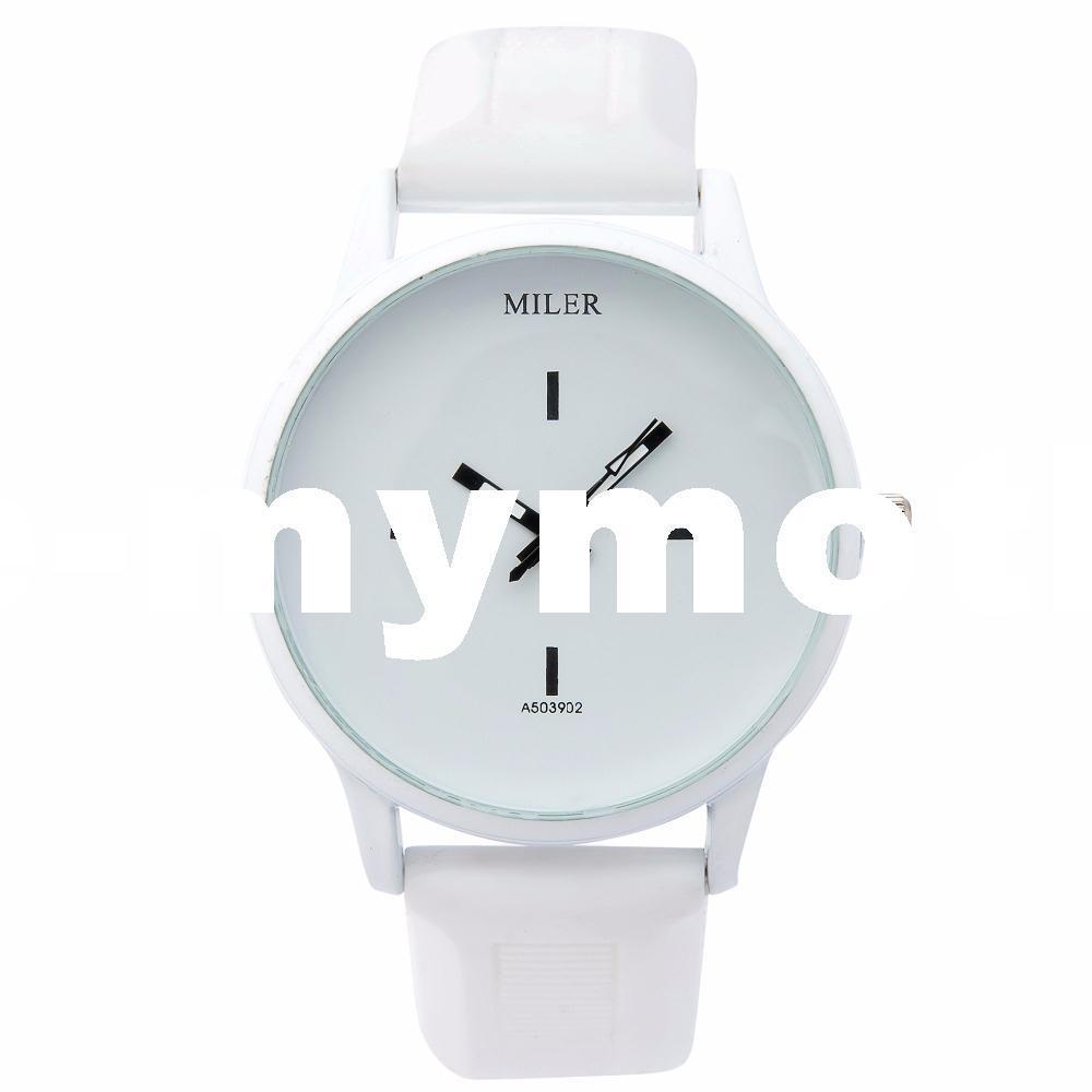 2016 Nuevo Reloj de Moda Estilo Harajuku Color Banda de Silicona Reloj Mujeres Simple Popular Estilo de Corea Estudiante Casual Reloj de Cuarzo