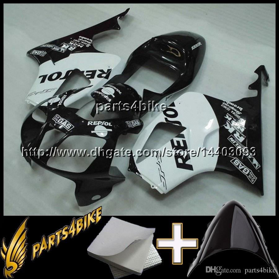 23colors+8Gifts REPSOL VTR1000 SP1 RC51 2000 2001 2002 2003 2004 2005 2006 00-06 Body Fairing for Honda