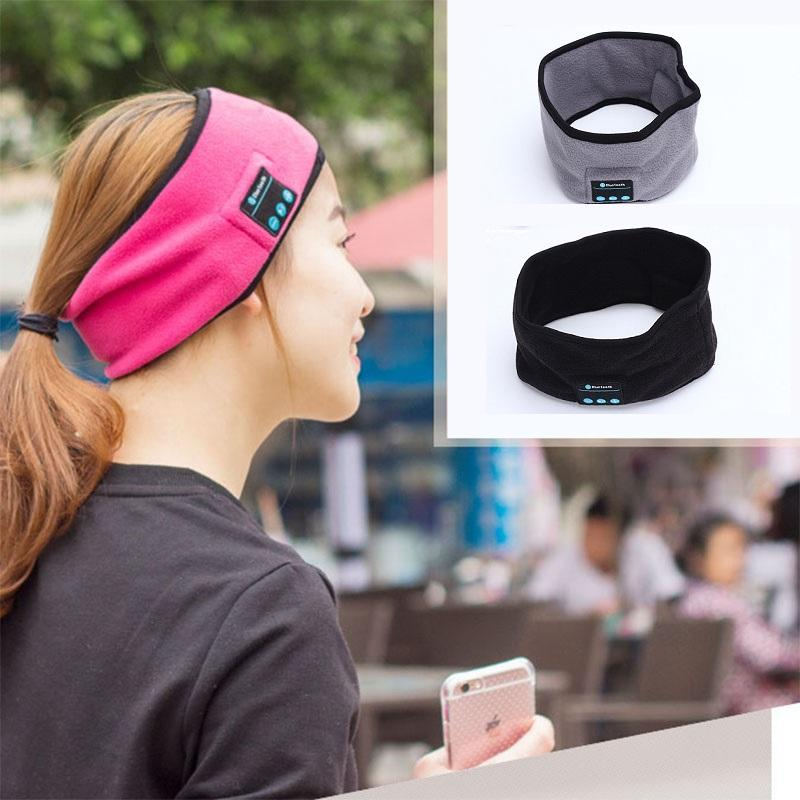 wireless bluetooth headband headphones universal bluetooh headsets for men women in sports running yoga dance hands free bluetooth headbands
