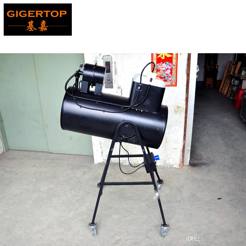 TIPTOP Stage Light 1300W Snow Storm Special Effect Machine Manual Control High Speed Blowing Fan Iron Case Bracket with Wheels