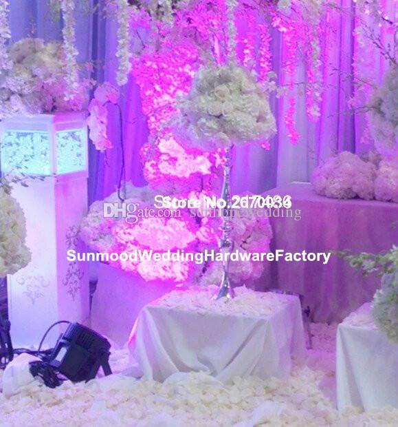 En Son! Düğün Dekorasyon için yeni stil Çiçek Stand Kurşun Yol