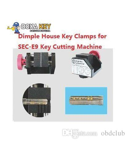 Newest Sec E9 Dimple House Key Clamps for SEC-E9 Fully Automatic Key Cutting Machine For Dimple house Keys Cutting