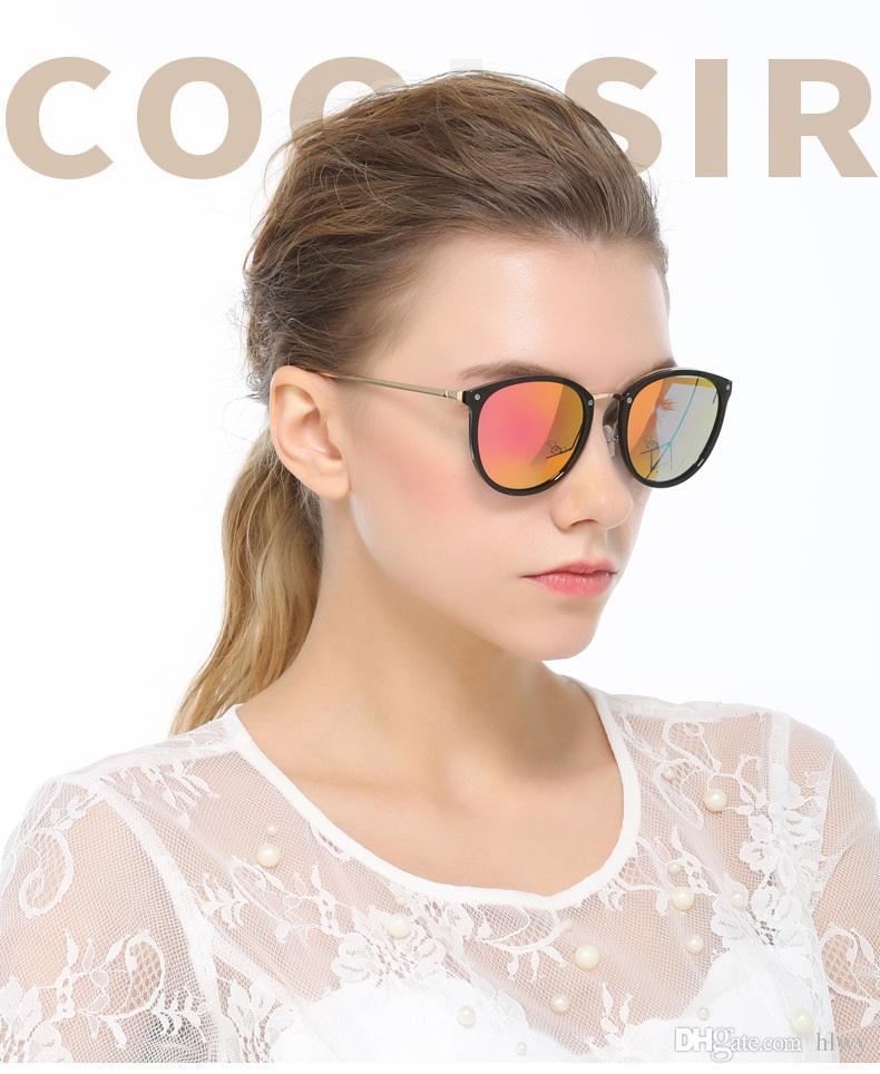 Nouvelles lunettes de soleil pour les hommes et les femmes dazzle couleur film marée reconstituant les anciennes façons de conduire lunettes lunettes polarisées