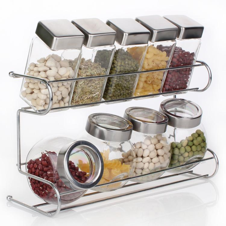 2019 Kitchen Spice Bottle Set Seasoning Jar Shelf Spice Rack From Txbiao,  $59.1 | DHgate.Com