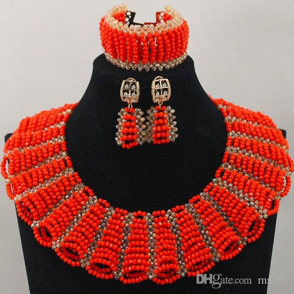 collier perle afrique