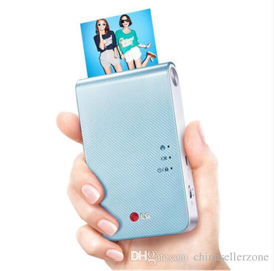 PD239 المحمولة ميني جيب صور طابعة بلوتوث اللاسلكية دعم الروبوت دائرة الرقابة الداخلية الهاتف الذكي الطباعة الملونة الأزرق / الوردي / الذهب / الأصفر