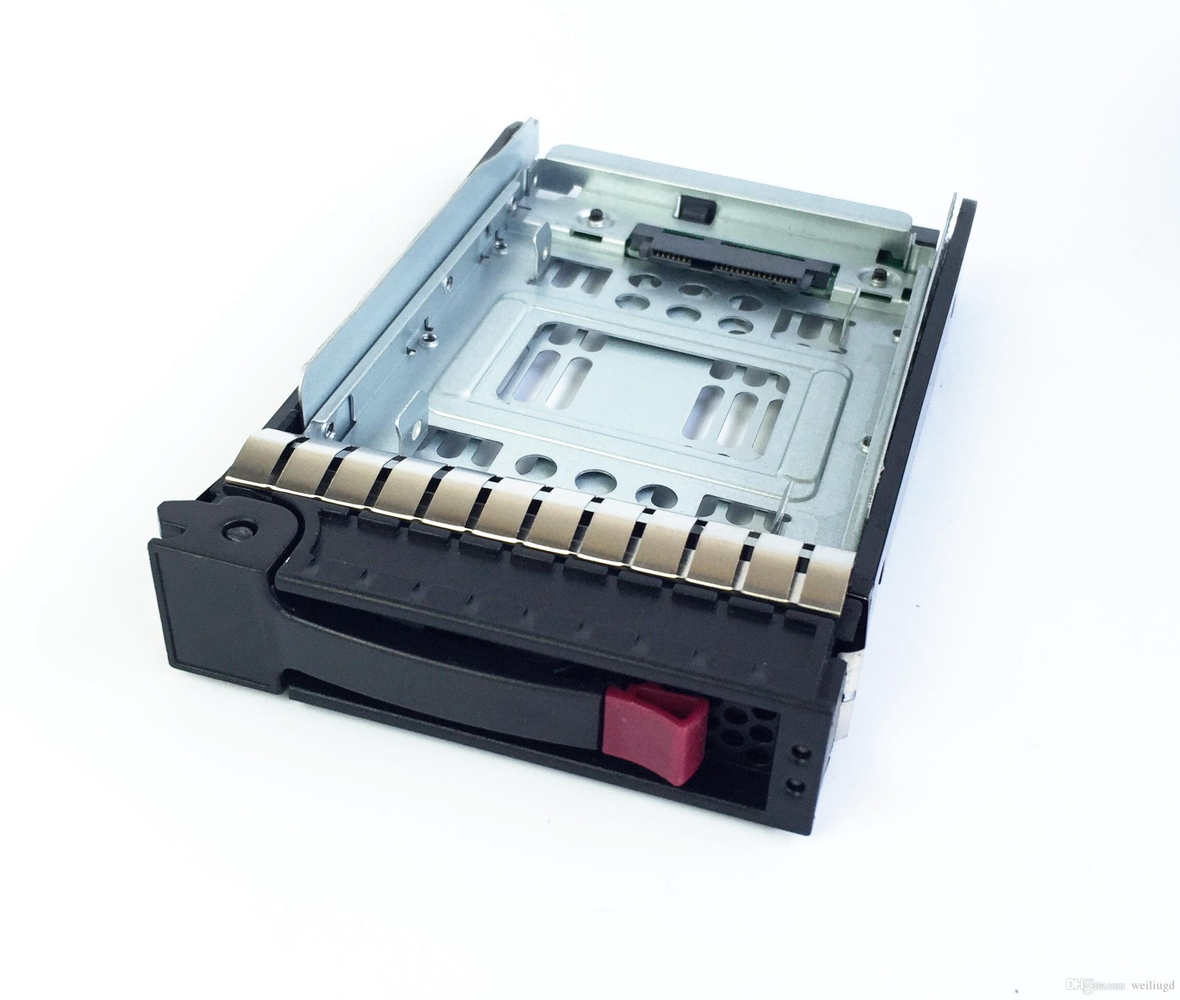 """HP 654540-001 +373211-001,2.5"""" SSD TO 3.5"""" SATA Converter Hard Drive Tray Caddy for HP g3 g4 g5 server"""