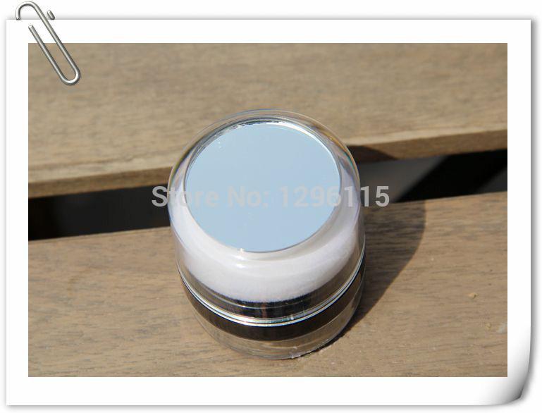 50pcs / lot in polvere sciolto jar10g, 10ml vuoto sciolto barattolo di polvere con setaccio