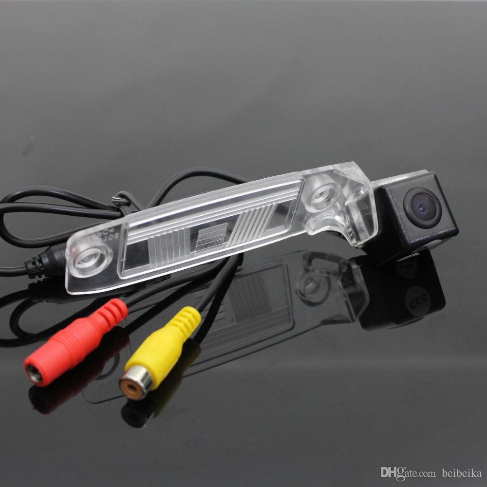 Car Rear Camera For KIA Sportage SL / Sportage R 2010~2015 / Back Parking Camera HD CCD RCA NTST PAL License Plate Light OEM