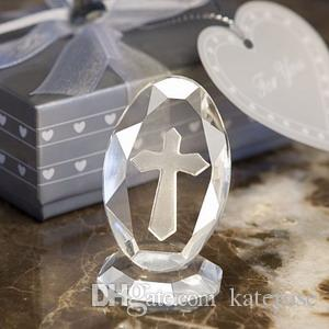 50PCS Choice Crystal Collection Crystal Crucifix Keepsake Religious Party Giveaways Church Wedding Favors FREE SHIPPING