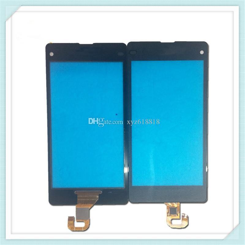 10 sztuk Oryginalny Nowy ekran dotykowy Digitizer Szkło Panel Wymiana dla Sony Xperia Z L36H LT36I Z1 L39H C6902 C6903 Z1 Compact Mini D5503