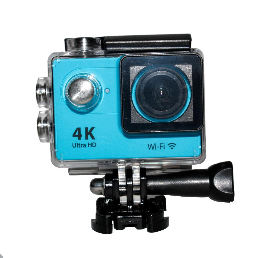 H9 4K Ultra HD 12M 1080P WiFi Sport Action Camera Waterproof Diving Helmet Video Recorder 170 Degree Wide Angle