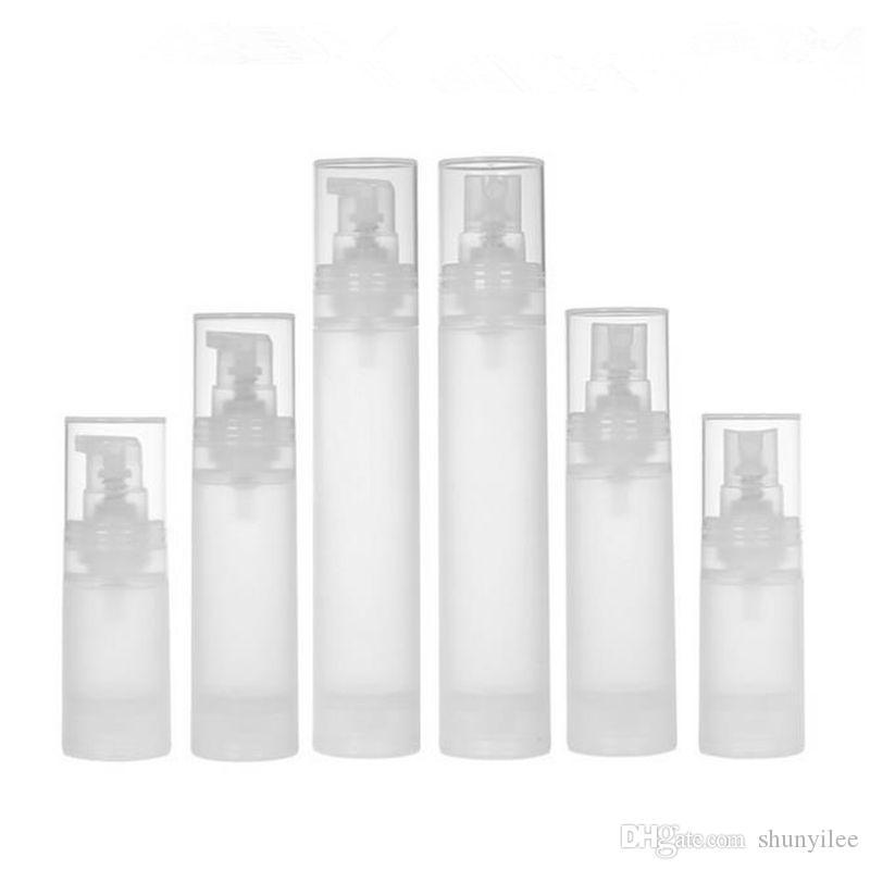 15ml 30ml 50ml flacone senz'aria flacone / opaco bottiglia per vuoto bottiglia per lozione bottiglia con materiale PP trasporto veloce F20171970