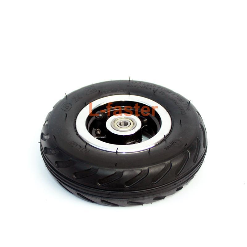 "6X2 인플레이션 타이어 휠 사용 6 ""타이어 합금 허브 160mm 공압 타이어 전동 스쿠터 F0 공압 휠 트롤리 카트 에어 휠"
