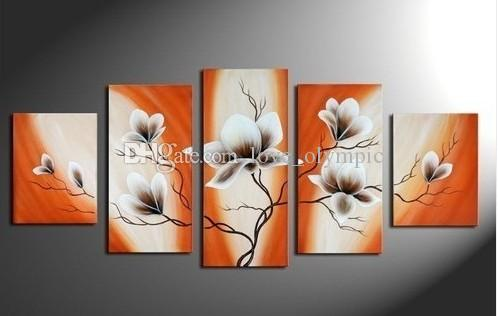 2019 Framed Huge Flower Art Painting Handpainted Modern Contemporary Abstract Decor Art Oil Painting On Canvas Multi Sizes R91 From Love Olympic