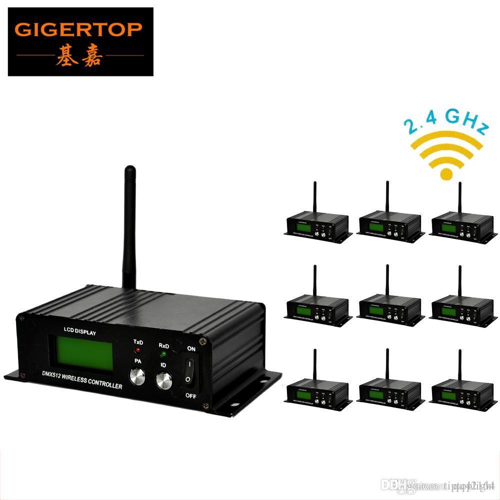 10pcs/lot DMX wireless controller transmitter&receiver,LED Lighting Controller,LED transceiver DMX 512 control GFSK modulate TP-D23