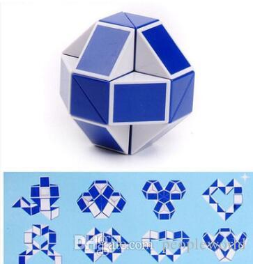 Mini Magic Cube Creative 3D Snake Shape Game Toys 3D Cube Puzzles Twist Puzzle Toys Random Intelligence Toys Supertop Games