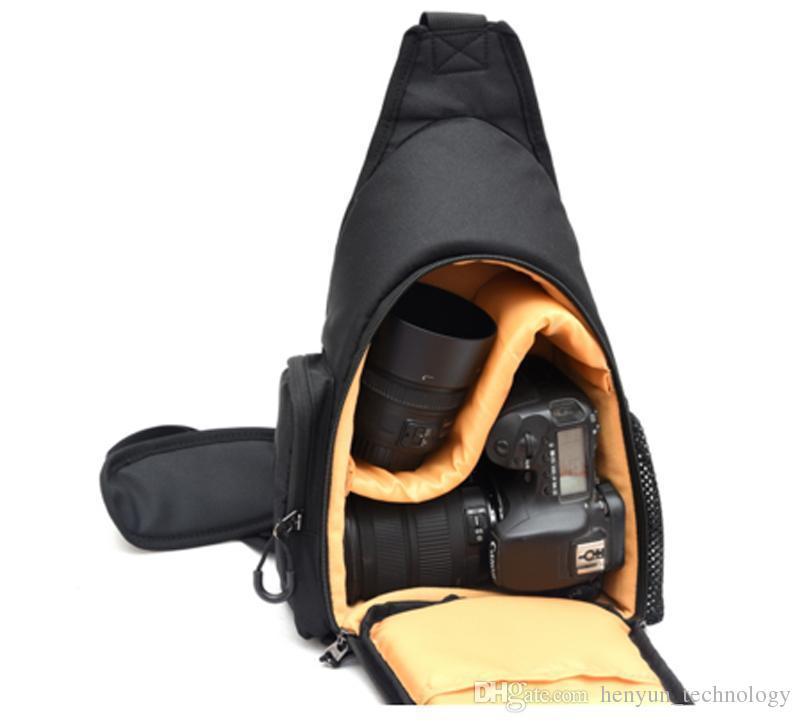 Shoulder Messenger Bag Chest Pack Camera Case For Nikon D3200D7200D3400D5500