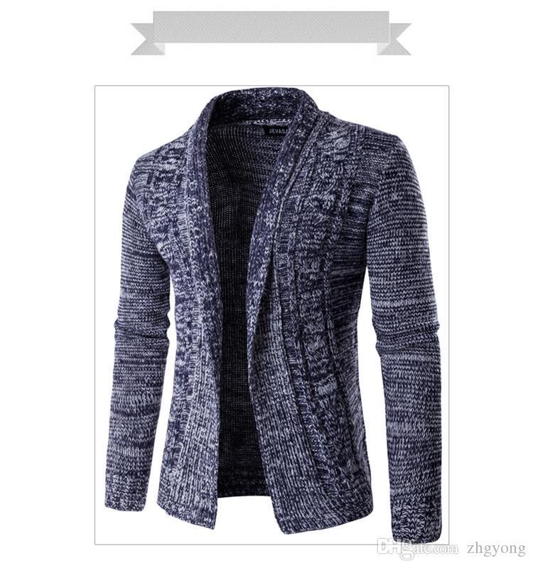 Compre Los Hombres De Corea Del Invierno Chaqueta De Suéter Chaqueta Masculina Ropa De Buena Calidad Yong Hombre Moda Niño Vestido Al Aire Libre